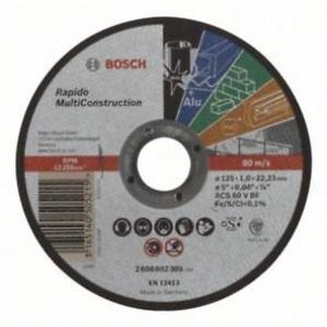 ДИСК 125x1,0 РЯЗАНЕ Rapido MC  2 608 602 385